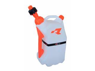 RACETECH Quick Fill Fuel Can 15L Translucent/Orange