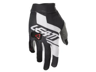 Handske LEATT GPX 2.5 X-Flow Svart/Vit Size M/EU8/US9