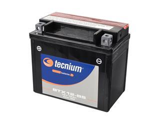 Batterie TECNIUM BTX12-BS sans entretien livrée avec pack acide - 329796