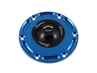 LIGHTECH Fuel Tank Cap Black/Cobalt Quick Lock Mv Brutale 800