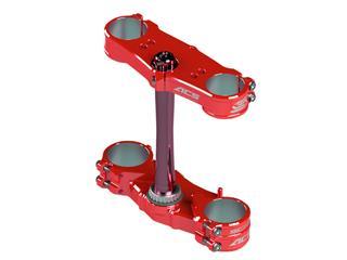 SCAR ACS Triple Clamp Offset 22mm Red Honda CRF250/450R