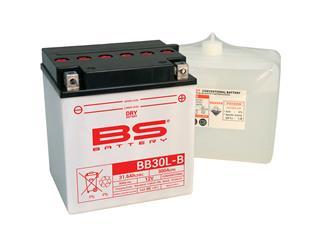 Batterie BS BATTERY BB30L-B conventionnelle livrée avec pack acide