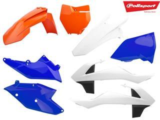 Kit plastique POLISPORT type origine Six Days Edition KTM EXC/EXC-F