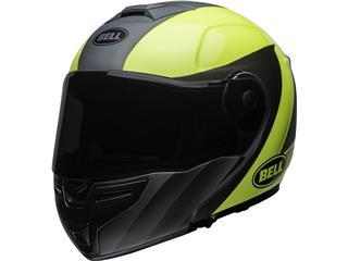 BELL SRT Modular Helmet Presence Matte Gloss Grey/Neon Yellow Size XXL