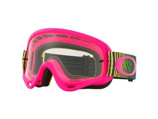 OAKLEY O Frame MX Goggle Shockwave Pink/Yellow/Green Clear Lens
