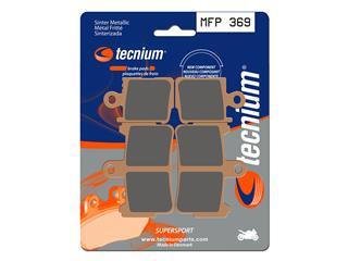 Plaquettes de frein TECNIUM MFP369 métal fritté - 3836911