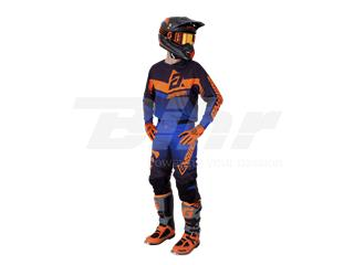 Pantalón ANSWER Trinity Negro/Azul Oscuro/Naranja Flúor Talla 36 (XL) - 8470a194-f15a-44a8-b058-29a889fab7ea