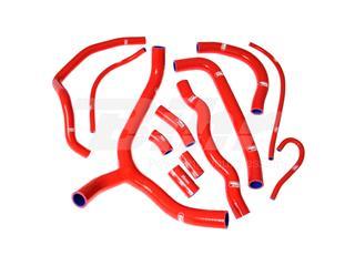 Kit manguitos Samco Honda rojo HON-41-RD