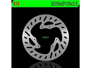 Disque de frein NG 614 rond fixe - 350614