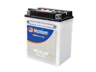 Batterie TECNIUM BB14-A2 conventionnelle livrée avec pack acide