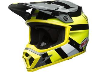 Casque BELL MX-9 MIPS Gloss HI-VIZ Yellow/Black Marauder taille XS - 7091759