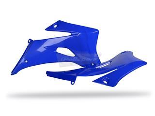 Ouïes de radiateur POLISPORT bleu Yamaha WR250F/WR450F - 784329BL