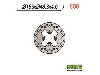 NG 608 Bremsscheibe Rund Fest - 350608