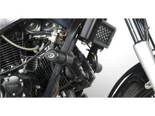 Tampons de protection R&G RACING Aero noir Hyosung GT125/250