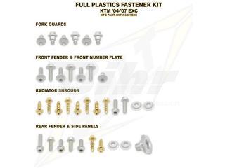 Kit tornillería de plástica Bolt KTM 04-07 EXC