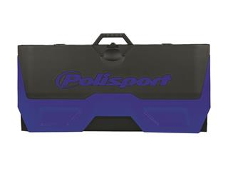 POLISPORT blue/black Foldable Bike Mat