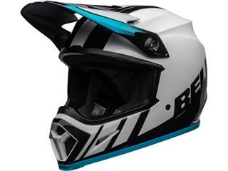 Casque BELL MX-9 Mips Dash White/Blue taille M