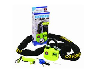 BIG BOSS ALARM DISC + 12MM X 1.5 M CHAIN