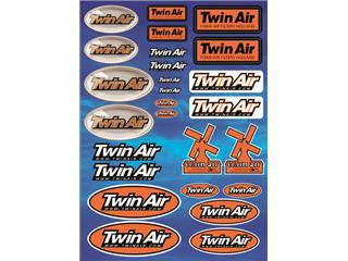 TWIN AIR Sheet of Stickers 2014