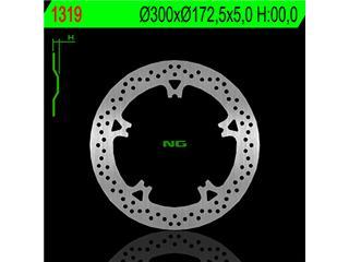 NG 1319 Brake Disc Round Floating Harley Davidson