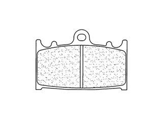Plaquettes de frein CL BRAKES 2251A3+ métal fritté