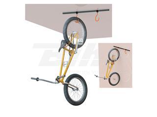 Suporte de bicicleta ao teto/parede Super B TB-1817