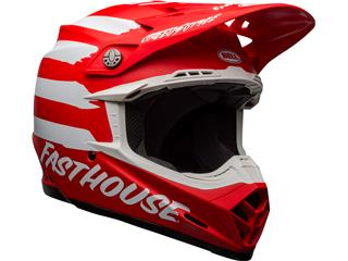 Casque BELL Moto-9 Mips Signia Matte Red/White taille L - 8802347b-9047-43fc-b8d1-198d7c9546f3