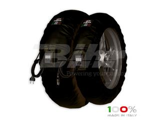 Calentadores CAPIT Suprema Vision Color negro (17'' - Del.120/Tra.200/55)
