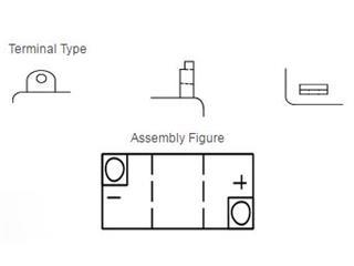 Batterie YUASA B38-6A conventionnelle - 885879fb-4141-42b5-a175-2db1ce616931