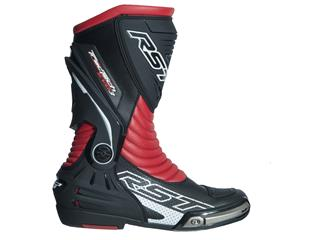 Bottes RST TracTech Evo 3 CE cuir rouge fluo 37 homme