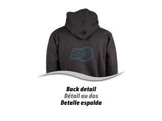 S3 Alaska Hoodie Black/Blue Size XS - 891d4b8f-9258-4447-94ec-56af2d63dd1c