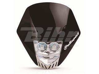 Careta Polisport HMX LED negro 8657100002
