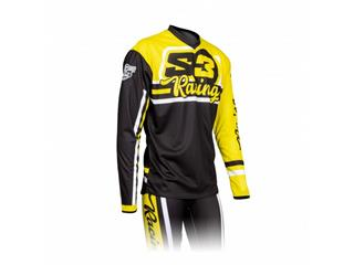 S3 Vint Jersey Yellow/Black Size XXL