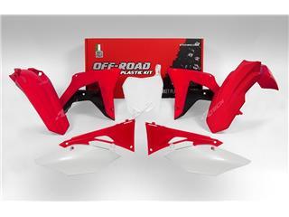 Kit plastique RACETECH couleur origine (2017) rouge/noir/blanc Honda CRF450R - 7805003
