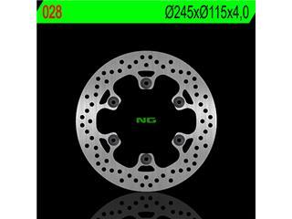 Disque de frein NG 028 rond fixe - 350028