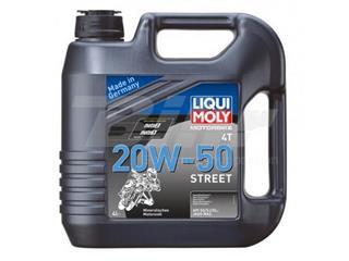 Garrafa de 4L aceite Liqui Moly Motorbike 4T mineral 20W-50 Street 1696
