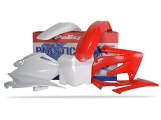 Kit plastique POLISPORT couleur origine Honda CRF250R