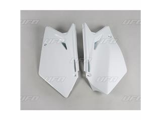 Plaques latérales UFO blanc Suzuki RM-Z450 - 78328610