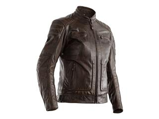 RST Roadster II Jacket CE Leather Brown Size XS Women