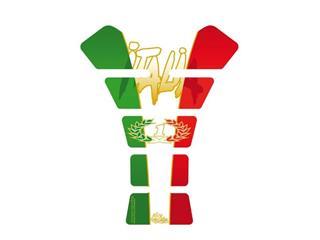 Protection de réservoir MOTOGRAFIX Street Style 1pc Italia tricolore