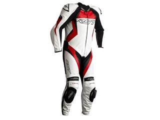 RST Tractech EVO 4 CE Race Suit Leather Red Size L Men - 816000100370