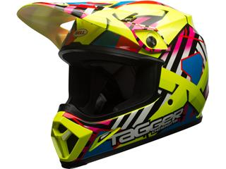 Casque BELL MX-9 Mips Tagger Gloss Double Trouble Yellow taille XL - 7080821