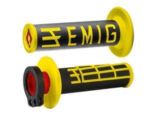 Revêtements ODI Emig V2 Lock-On jaune/noir - OG3907