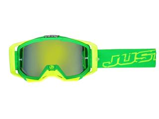 JUST1 Iris Goggle Neon Green/Yellow