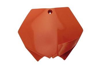 Plaque numéro frontale UFO orange KTM - 78522453