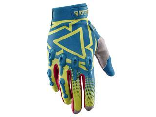 LEATT GPX 4.5 Lite handschoenen geel-blauw Maat S (EU7 - US8)