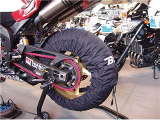 BIHR Home Track EVO2 165 Self-regulating Tyre Warmers