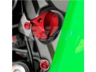 Tapón de llenado de aceite Pro-Bolt Kawasaki Aluminio rojo OFCK10R