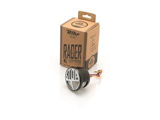 Feu arrière LED homologué clair Bihr Dum-Dum noir - 323127