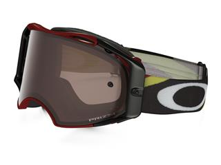 Masque OAKLEY Airbrake Heritage Racer Bright Red écran Prizm MX Black Iridium